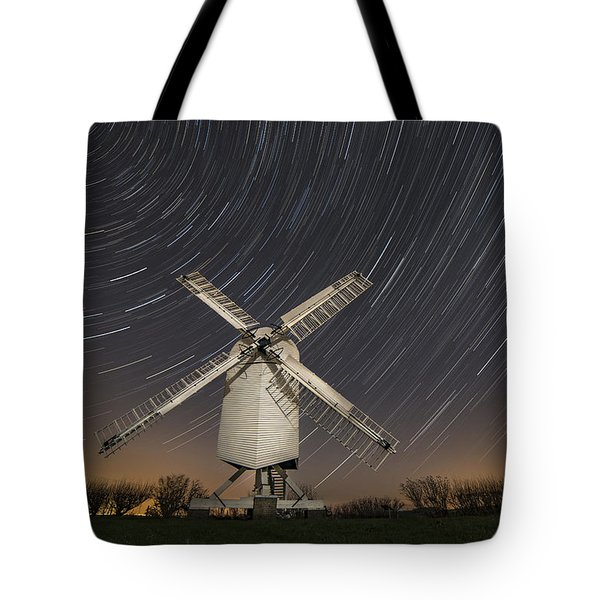 Moonlit Chillenden Windmill Tote Bag