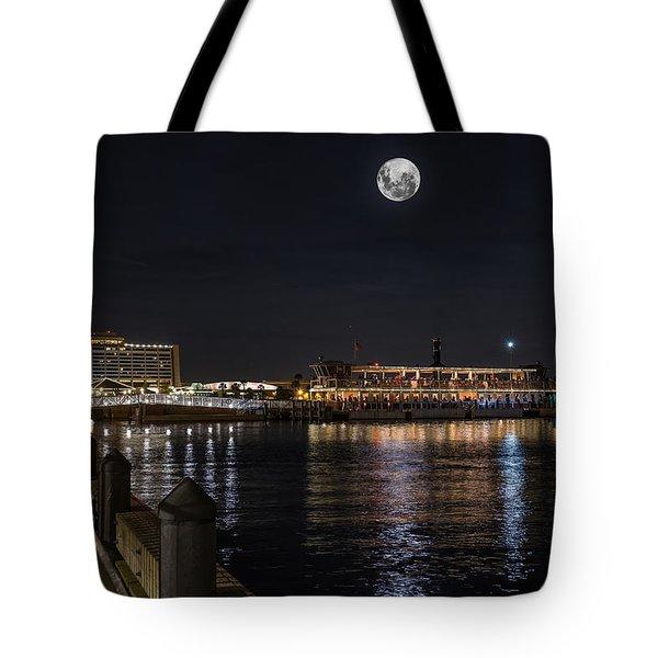 Moonlit Disney Contemporary Resort Tote Bag