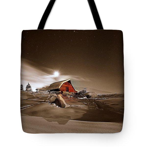 Moonlit  Tote Bag by Matt Helm