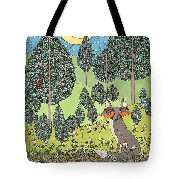 Moonlit Meadow Tote Bag