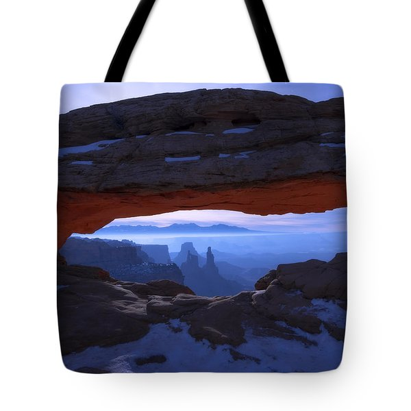 Moonlit Mesa Tote Bag by Chad Dutson