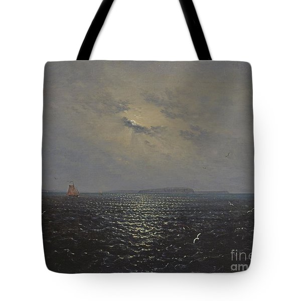 Moonlit Night By Ruegen Tote Bag