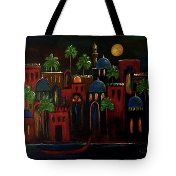 Moonlit Night Tote Bag