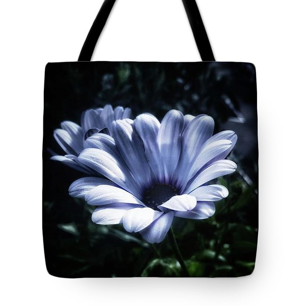 Tote Bag featuring the photograph Moonlit Petals. From The Beautiful by Mr Photojimsf