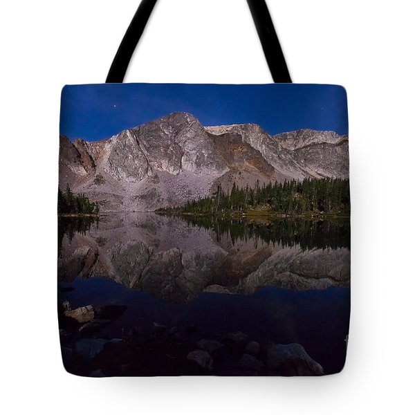 Moonlit Reflections  Tote Bag
