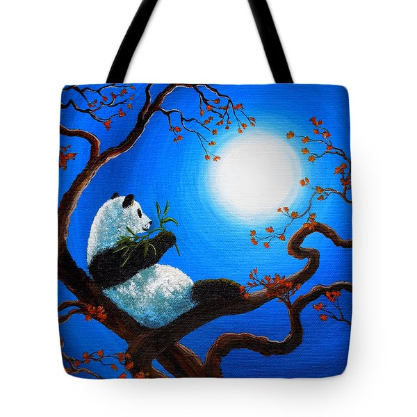 Moonlit Snack Tote Bag