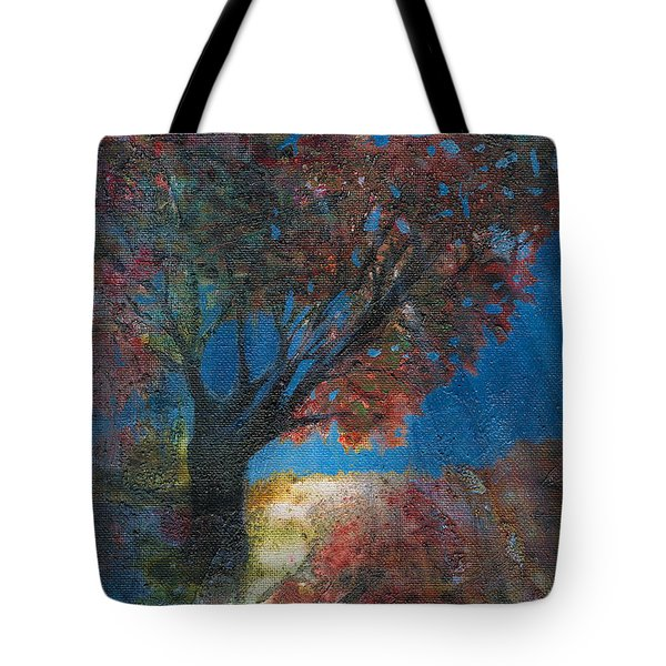 Moonlit Tree Tote Bag