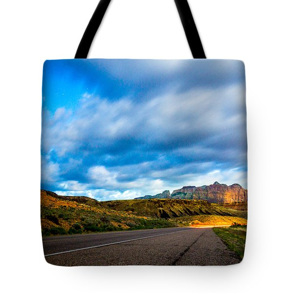 Moonlit Zion Tote Bag