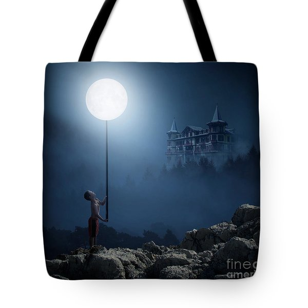 Moonplay Tote Bag