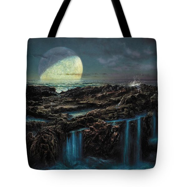 Moonrise 4 Billion Bce Tote Bag by Don Dixon