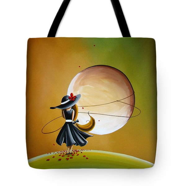Moonrise Tote Bag by Cindy Thornton