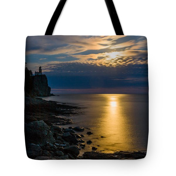 Moonrise From The Cloudbank Tote Bag