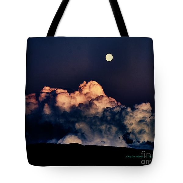 Moonrise In Taos Tote Bag