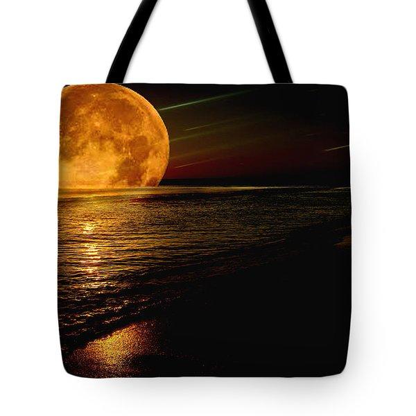 Moonrise Tote Bag by James C Thomas