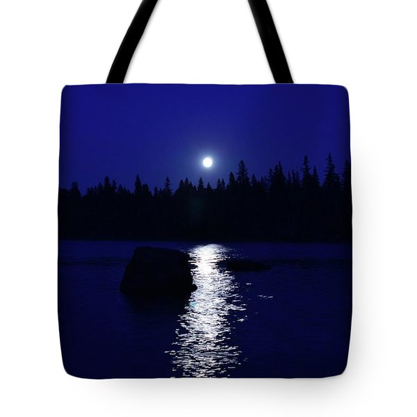 Moonrise On A Midsummer's Night Tote Bag