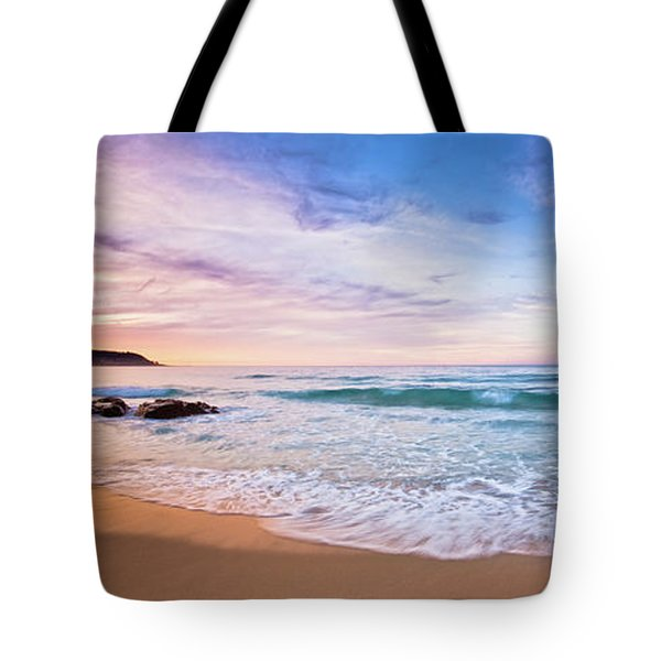 Tote Bag featuring the photograph Bunker Bay Sunset, Margaret River by Dave Catley