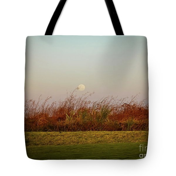 Moonscape Evening Shades Tote Bag