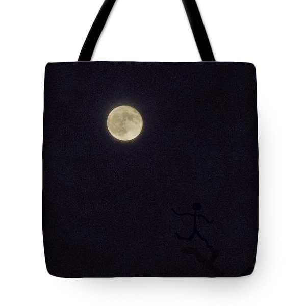 Tote Bag featuring the photograph Moonshadow by Deborah Moen