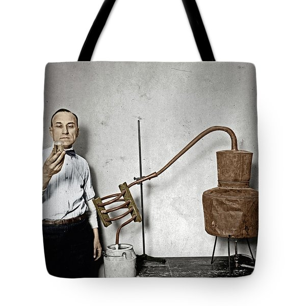 Tote Bag featuring the photograph Moonshine Distillery by Granger