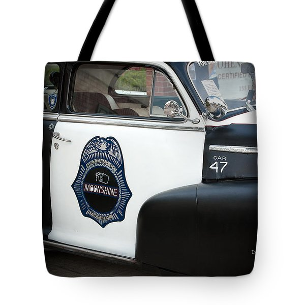Moonshine Patrol Tote Bag by DigiArt Diaries by Vicky B Fuller