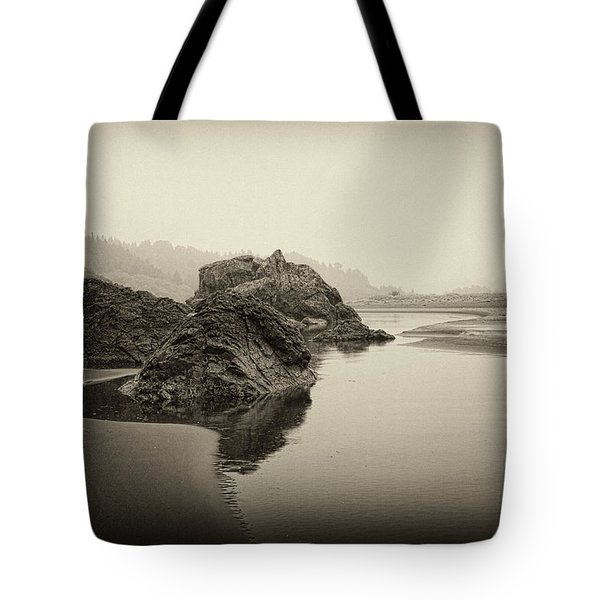Tote Bag featuring the photograph Moonstone Beach by Hugh Smith