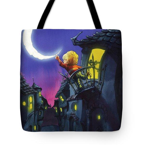 Moonthief Tote Bag