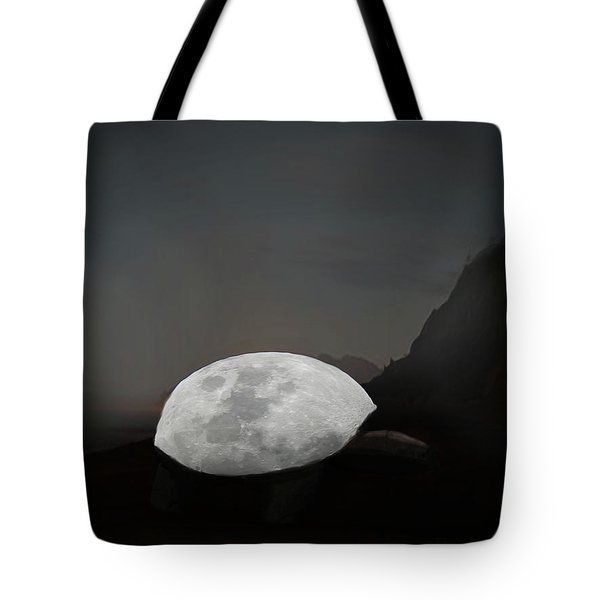 Moontoise Tote Bag by Keshava Shukla