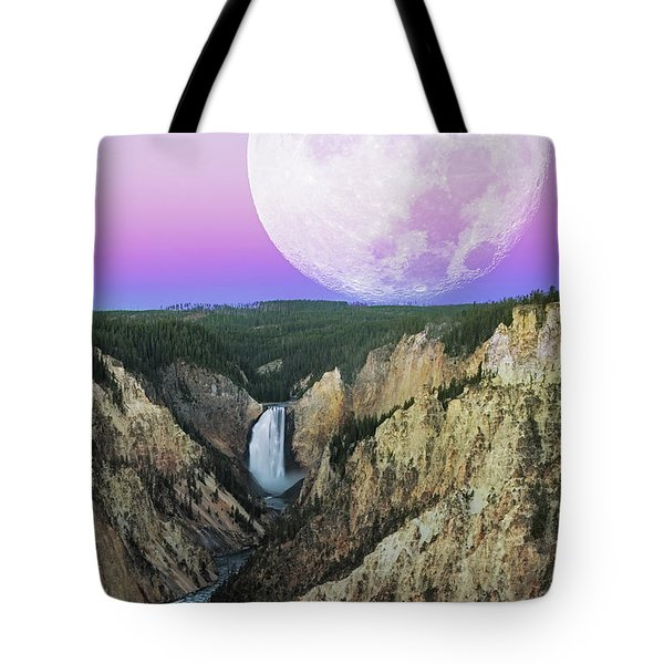 My Purple Dream Tote Bag by Edgars Erglis