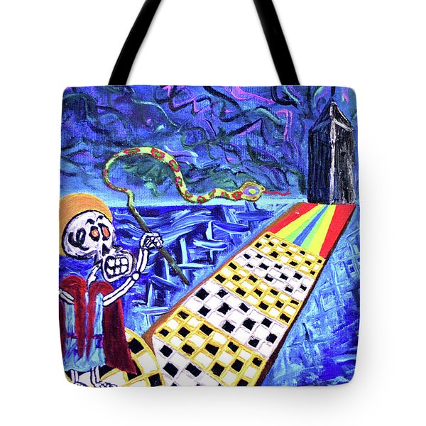 Moooshe And The Red Sea Tote Bag
