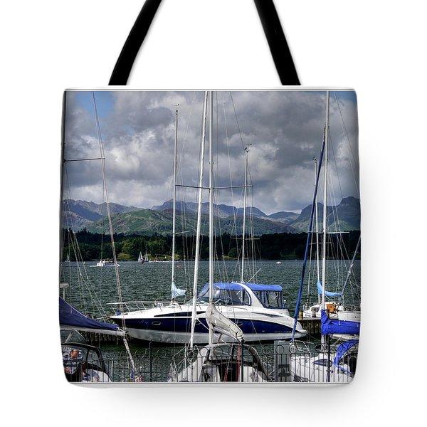 Moored In Beauty Tote Bag