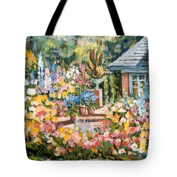Moore's Garden Tote Bag by Alexandra Maria Ethlyn Cheshire