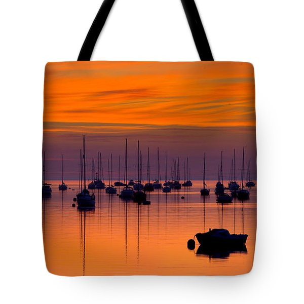 Moorings, Conwy Estuary Tote Bag