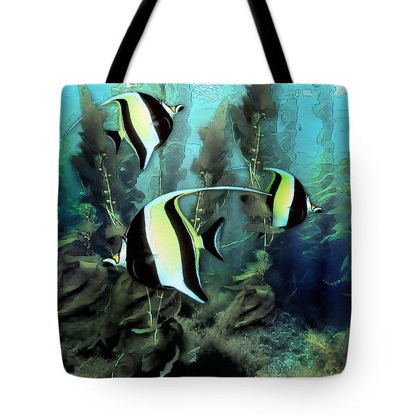 Moorish Idols - Tropical Fish Tote Bag