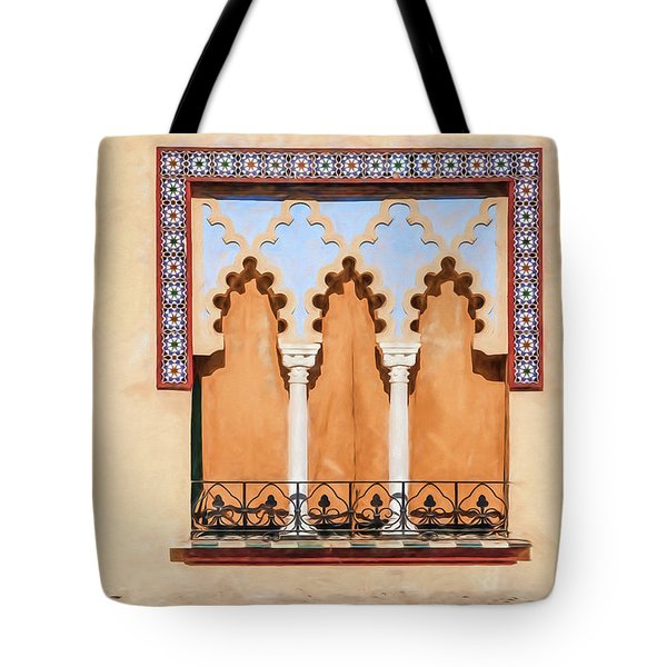 Moorish Window II Tote Bag