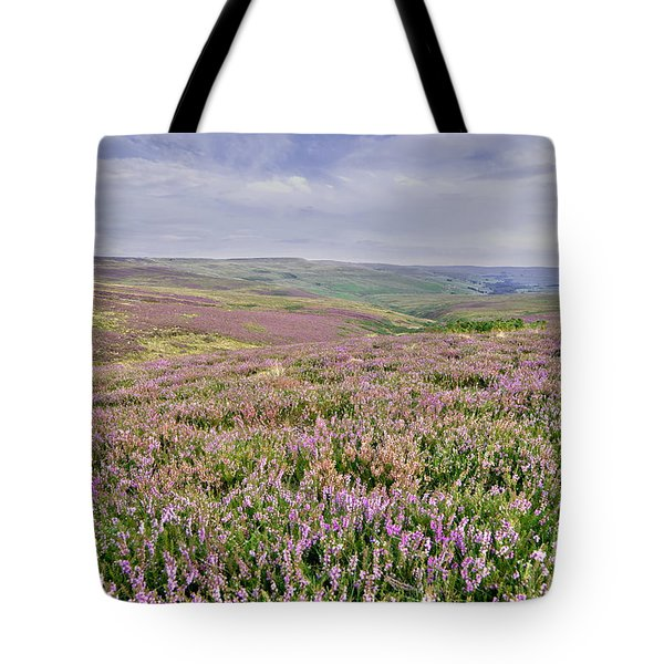 Moorland Heather - The Dales Tote Bag