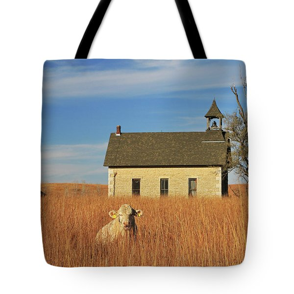 Moo's That? Tote Bag by Christopher McKenzie