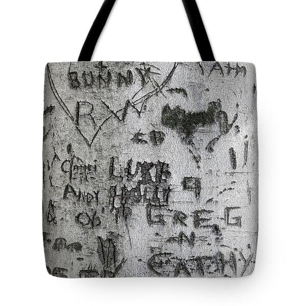 Moose And Bunny Tote Bag