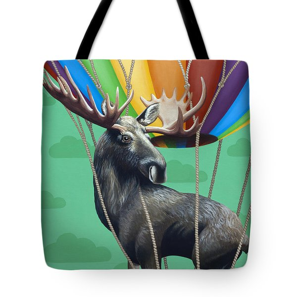 Moose De Rozier Tote Bag
