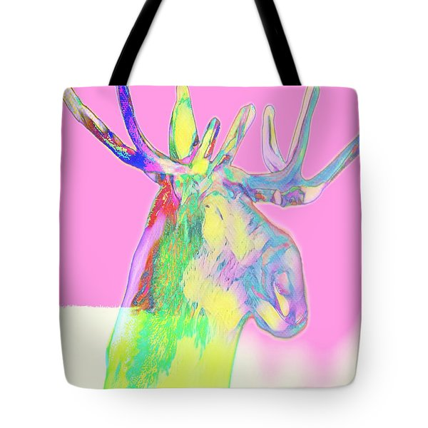 Moosemerized Tote Bag