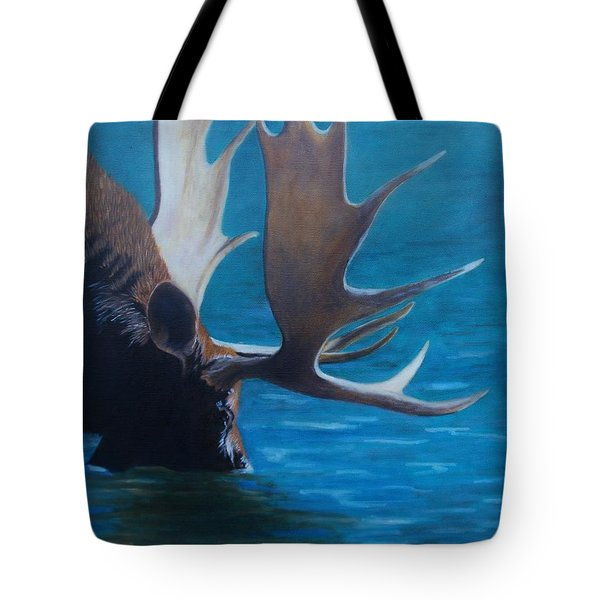 Moose Lake Tote Bag