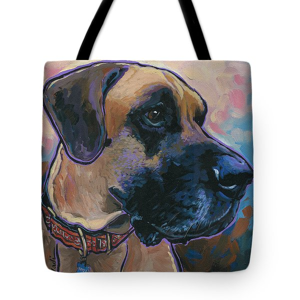 Moose Tote Bag by Nadi Spencer