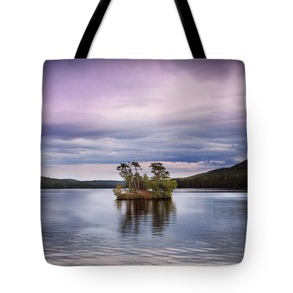Moose Pond Maine Tote Bag