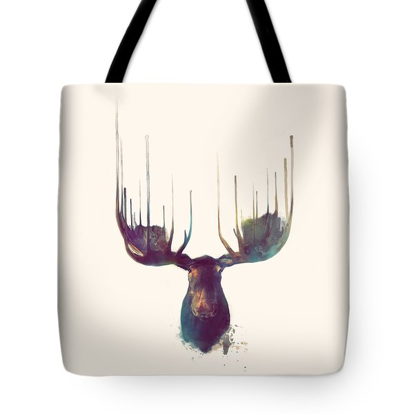 Moose // Squared Format Tote Bag