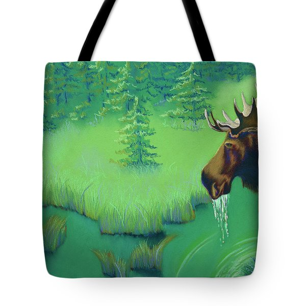 Moose Tote Bag by Tracy L Teeter