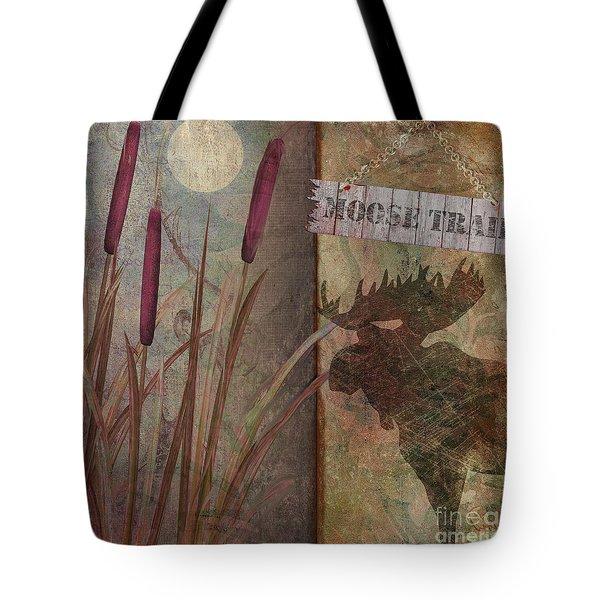 Moose Trail Tote Bag