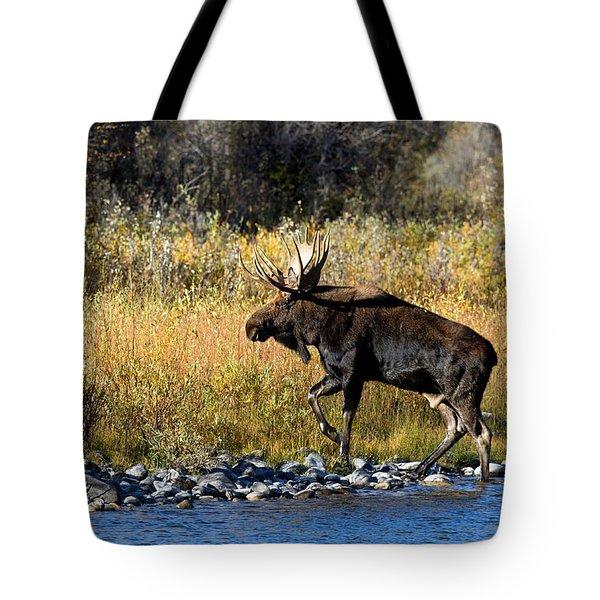 Moose X-ing Tote Bag