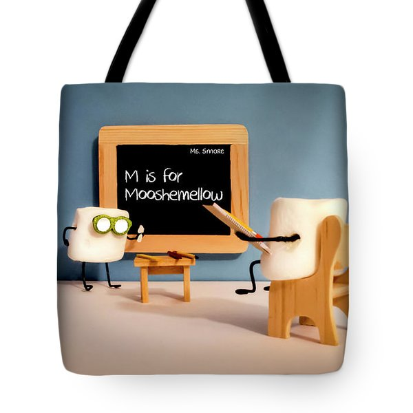 Mooshemellow Tote Bag by Heather Applegate