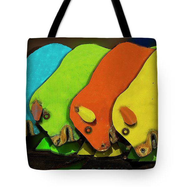 Tote Bag featuring the photograph Mooving On by Paul Wear