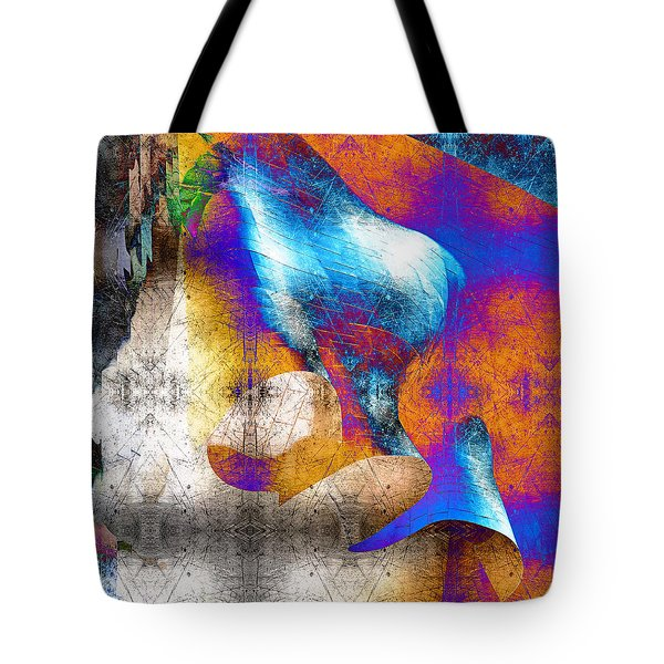 Tote Bag featuring the photograph Mopop by Michael Hope