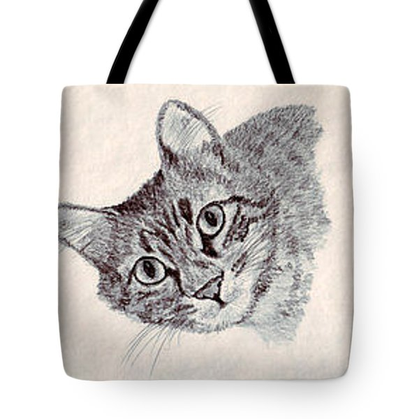 Mopsy Tote Bag by Connie Morrison